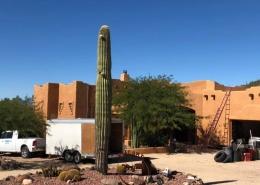 Flat Roof Solar install in New River, Arizona