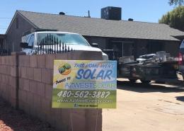 Residential Solar Install in Goodyear