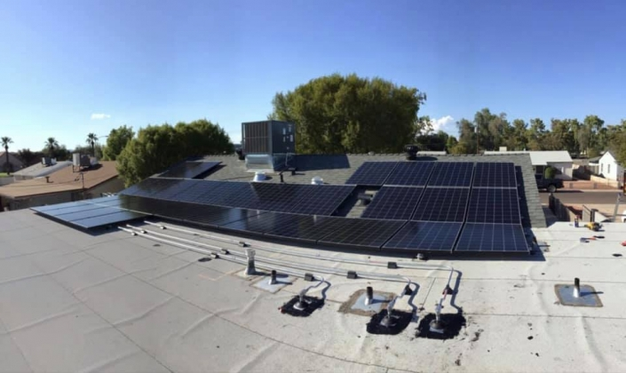 Residential Solar Install in Goodyear