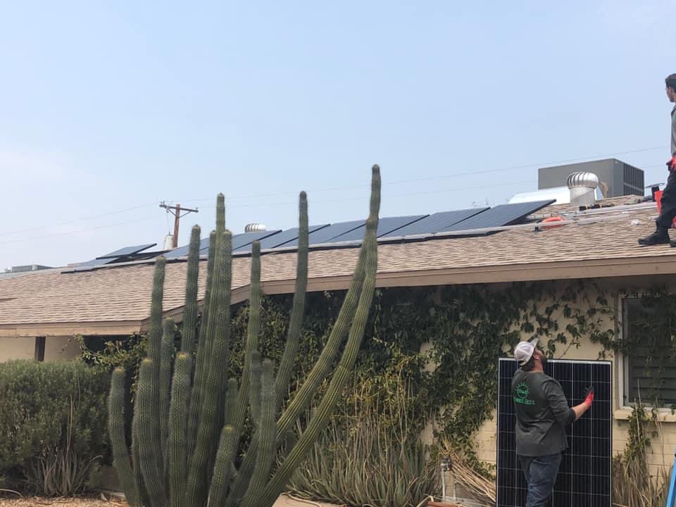 Residential Solar Install in Scottsdale