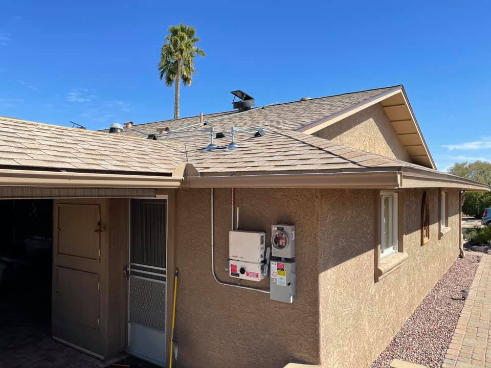Sun City West residential solar project installed
