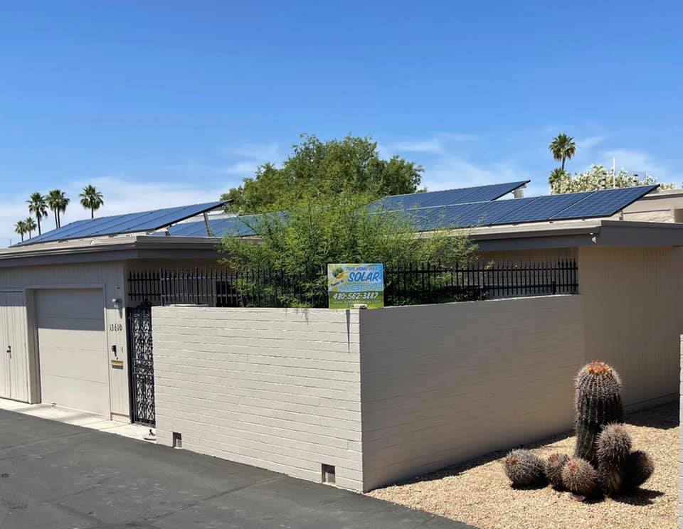 Solar Project for a Homeowners in Sun City, Arizona
